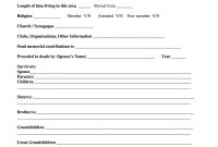 Fill In The Blank Obituary Template  Fill Online Printable with Fill In The Blank Obituary Template