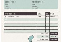 Film Invoice Template Plan Archaicawful Templates Freelance pertaining to Film Invoice Template
