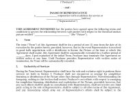 Film Producer Representative Agreement  Legal Forms And Business In Legal Representation Agreement Template