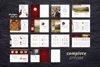 Fine Wine Vol  Brochure Adobeindesigncompatibleready  Graphic within Wine Brochure Template