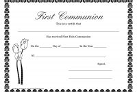 First Communion Banner Templates  Printable First Communion for First Communion Banner Templates