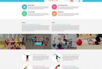 Fitness Web Template inside Gymnastics Certificate Template