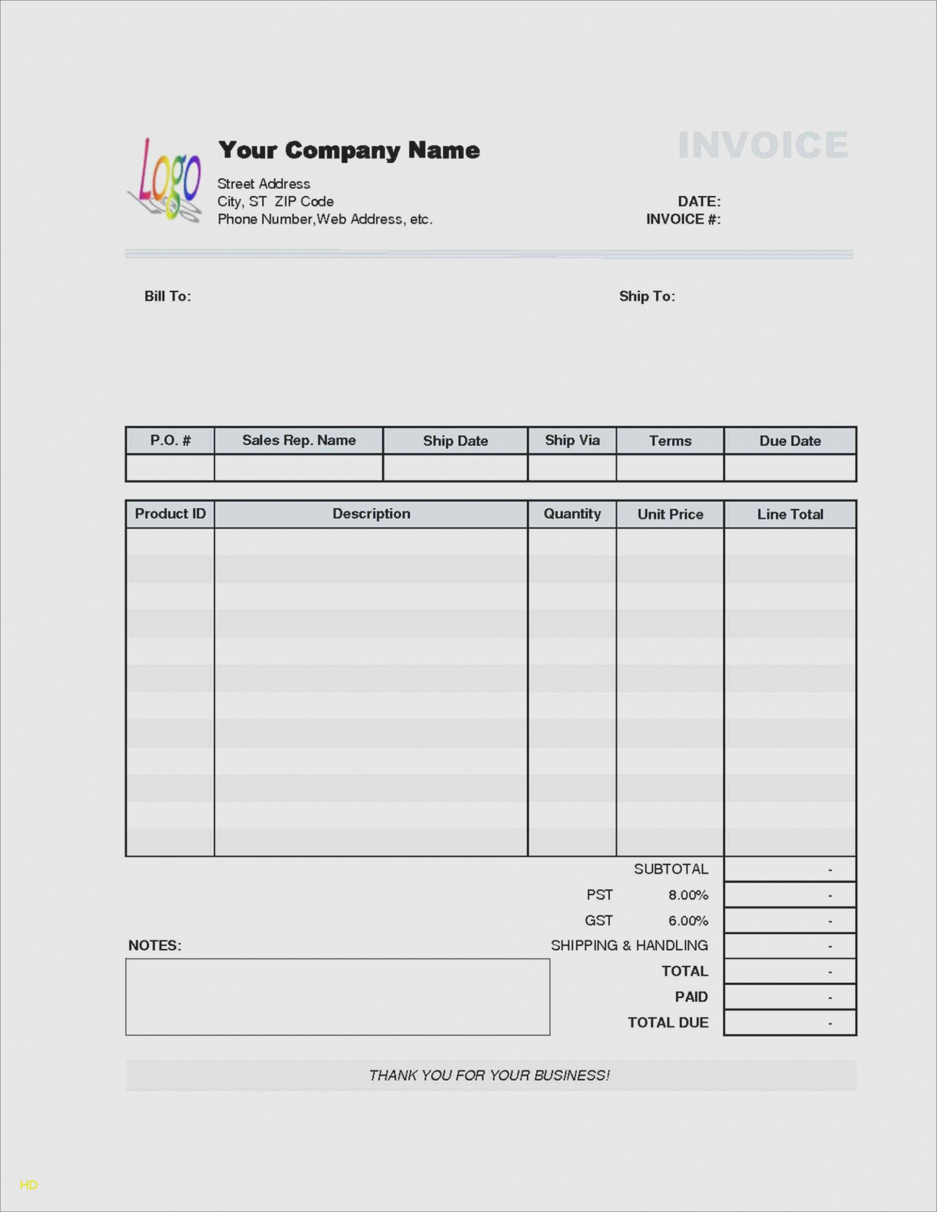 Five Things To Avoid In  The Invoice And Resume Template Within Moving Company Invoice Template Free