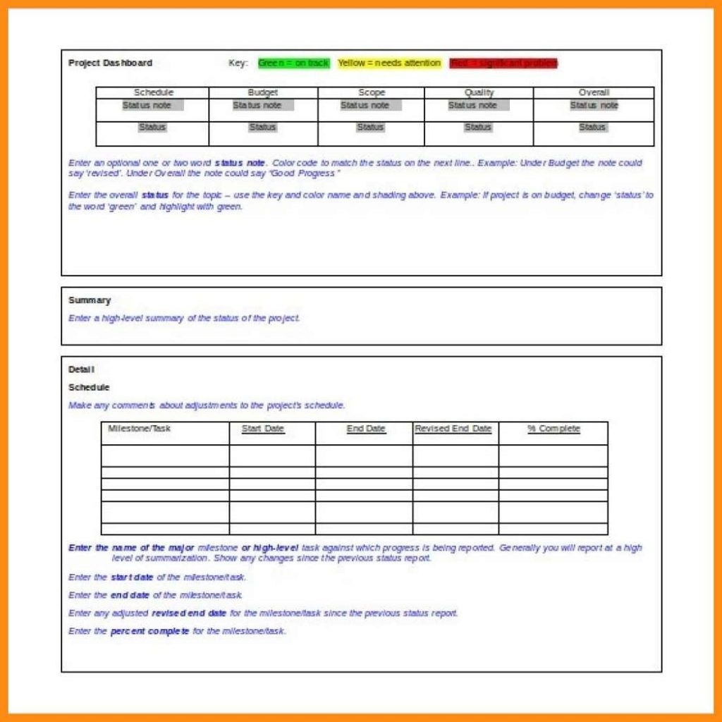 Flexible Budget Performance Report Format Template Project Example Intended For Flexible Budget Performance Report Template