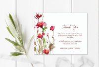 Floral Bereavement Sympathy Card Memorial Service Printable  Etsy inside Sympathy Card Template
