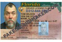Florida Driver's License Fake Id Virtual  Fake Id Card Maker with Florida Id Card Template
