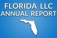 Florida Llc  Annual Report  Youtube inside Llc Annual Report Template
