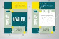 Flyer Brochure Design Template Engineering Abstract Stock Vector for Engineering Brochure Templates