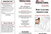 Flyers And Brochuresinspectors Inc in Thermal Imaging Report Template