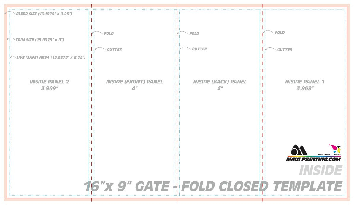 Fold Brochure Template As Well Adobe Illustrator With Plus Word Within 4 Panel Brochure Template
