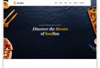 Foodfun  Free Food  Drink Website Template   Colorlib inside Fun Menu Templates