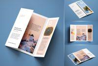 Free A Singlegate Fold Brochure Mockup Psd Set  Free Graphic inside Gate Fold Brochure Template Indesign