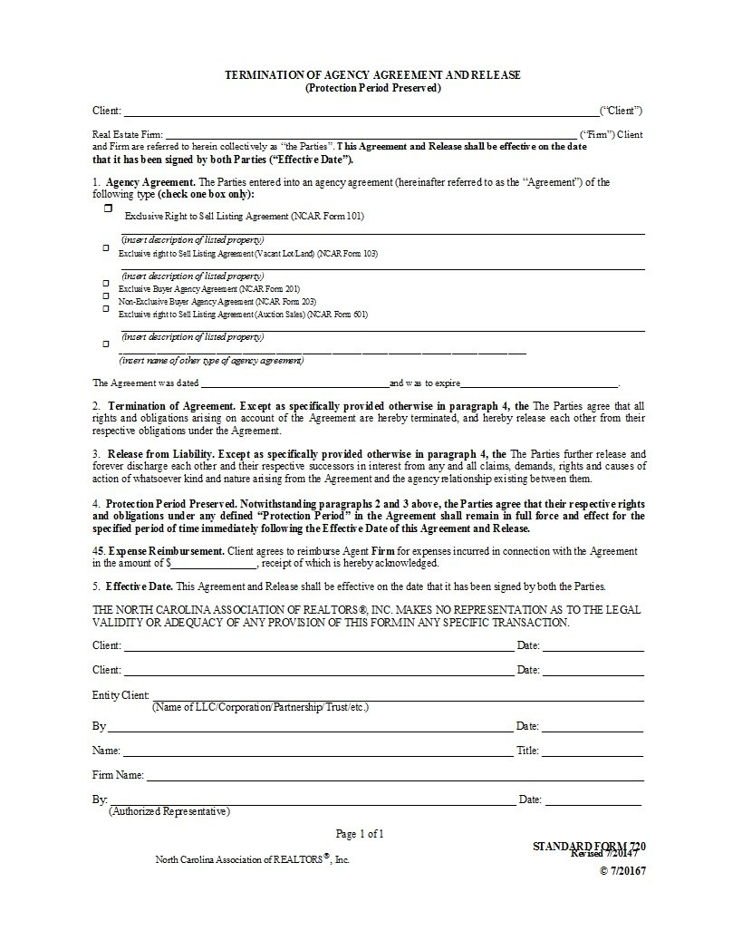 Free Agency Agreement Templates Ms Word ᐅ Template Lab Pertaining To Legal Representation Agreement Template