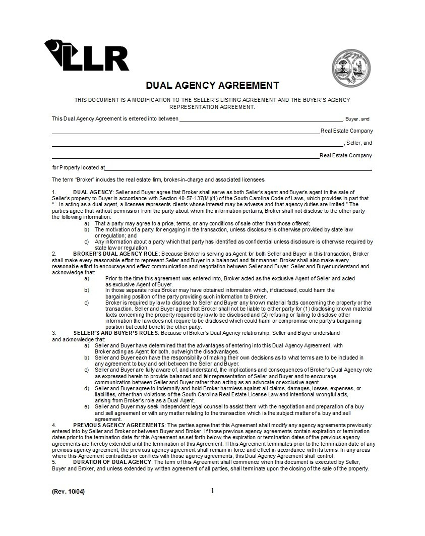 Free Agency Agreement Templates Ms Word ᐅ Template Lab With Regard To Appointed Representative Agreement Template