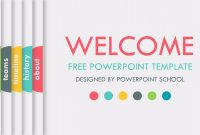 Free Animated Powerpoint Slide Template  Youtube in Powerpoint Presentation Animation Templates