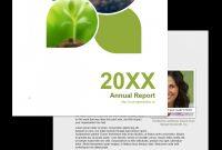 Free Annual Report Template Non Profit Indesign Nonprofit for Chairman's Annual Report Template