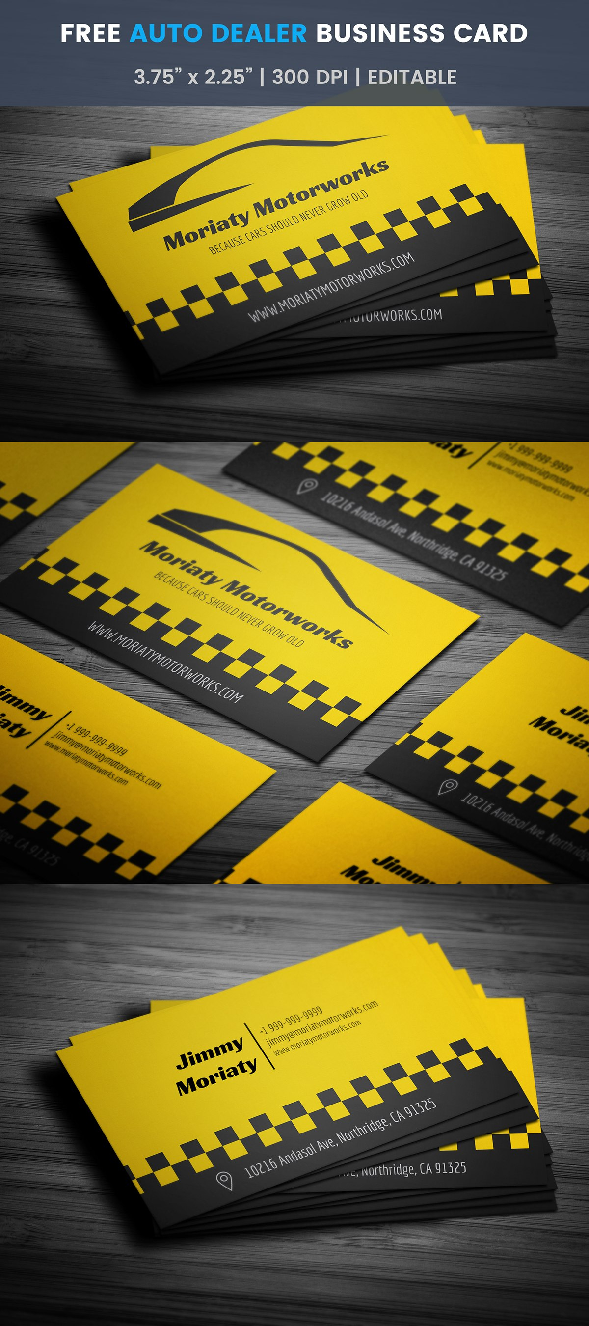Free Automotive Business Card Template On Student Show For Automotive Business Card Templates