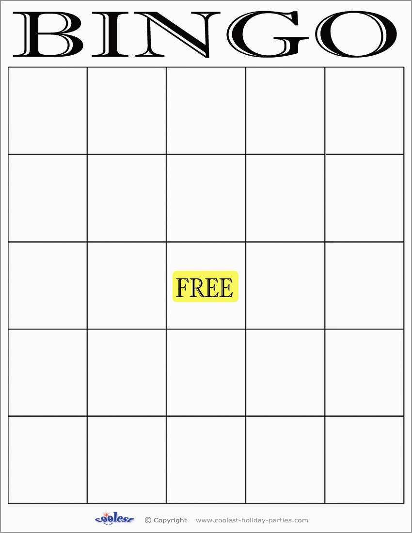 Free Baby Shower Bingo Blank Template Inspirational  Best Ideas With Regard To Blank Bingo Template Pdf