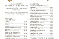 Free Bakery Menu Templates Download Template Outstanding Ideas throughout Free Bakery Menu Templates Download