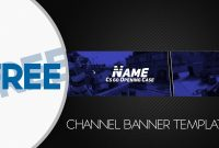 Free Banner Template Gimp pertaining to Gimp Youtube Banner Template