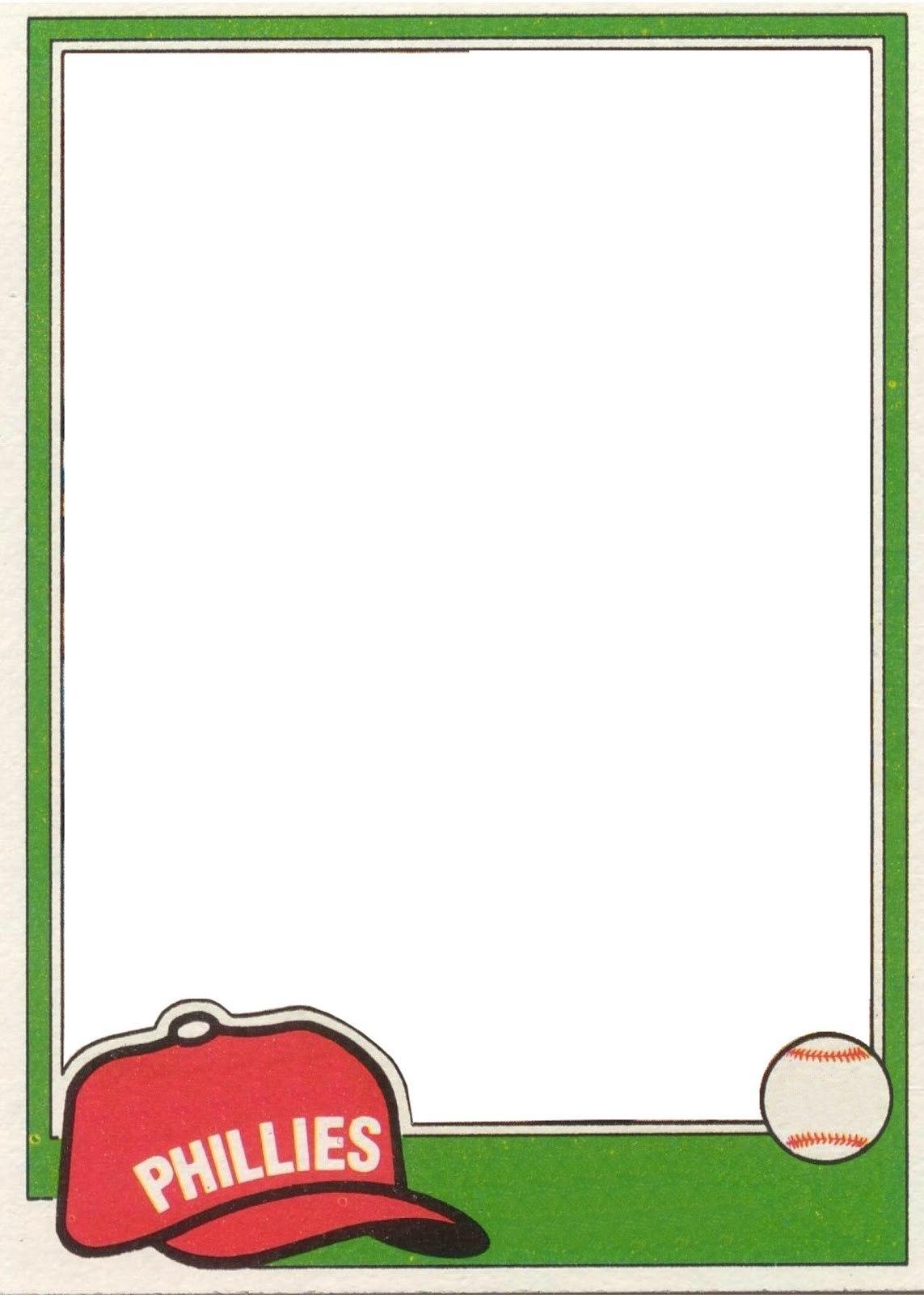 Free Baseball Card Template Ideas Magnificent Word Birthday With Baseball Card Template Word