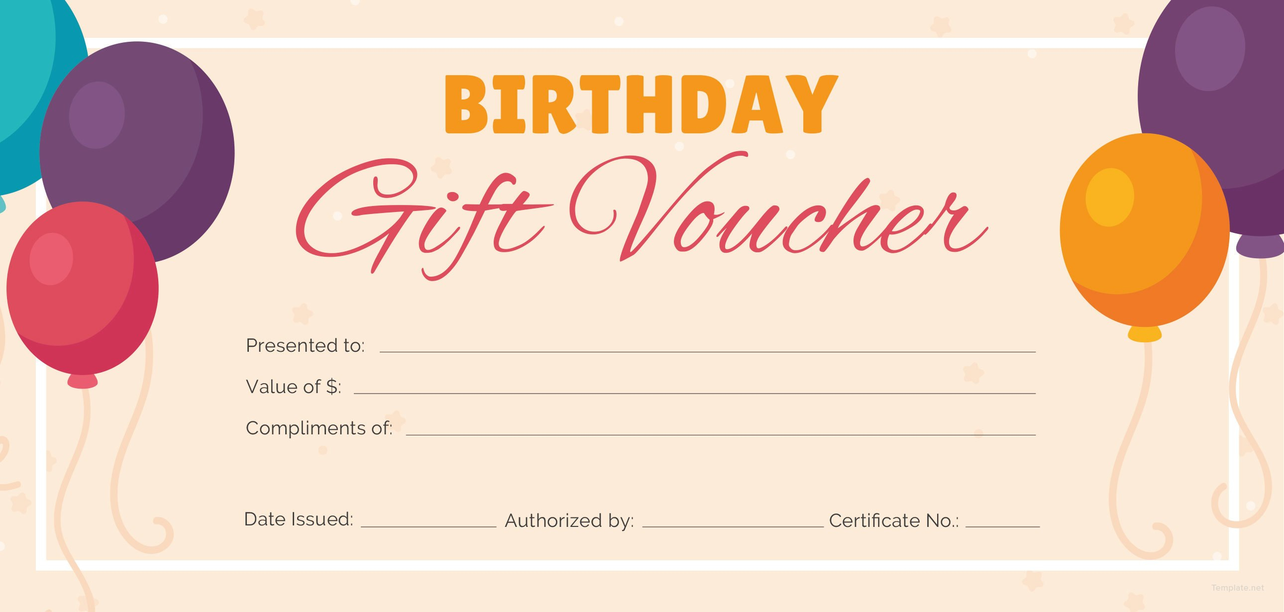 Free Birthday Gift Certificate Templates  Certificate Template For Track And Field Certificate Templates Free