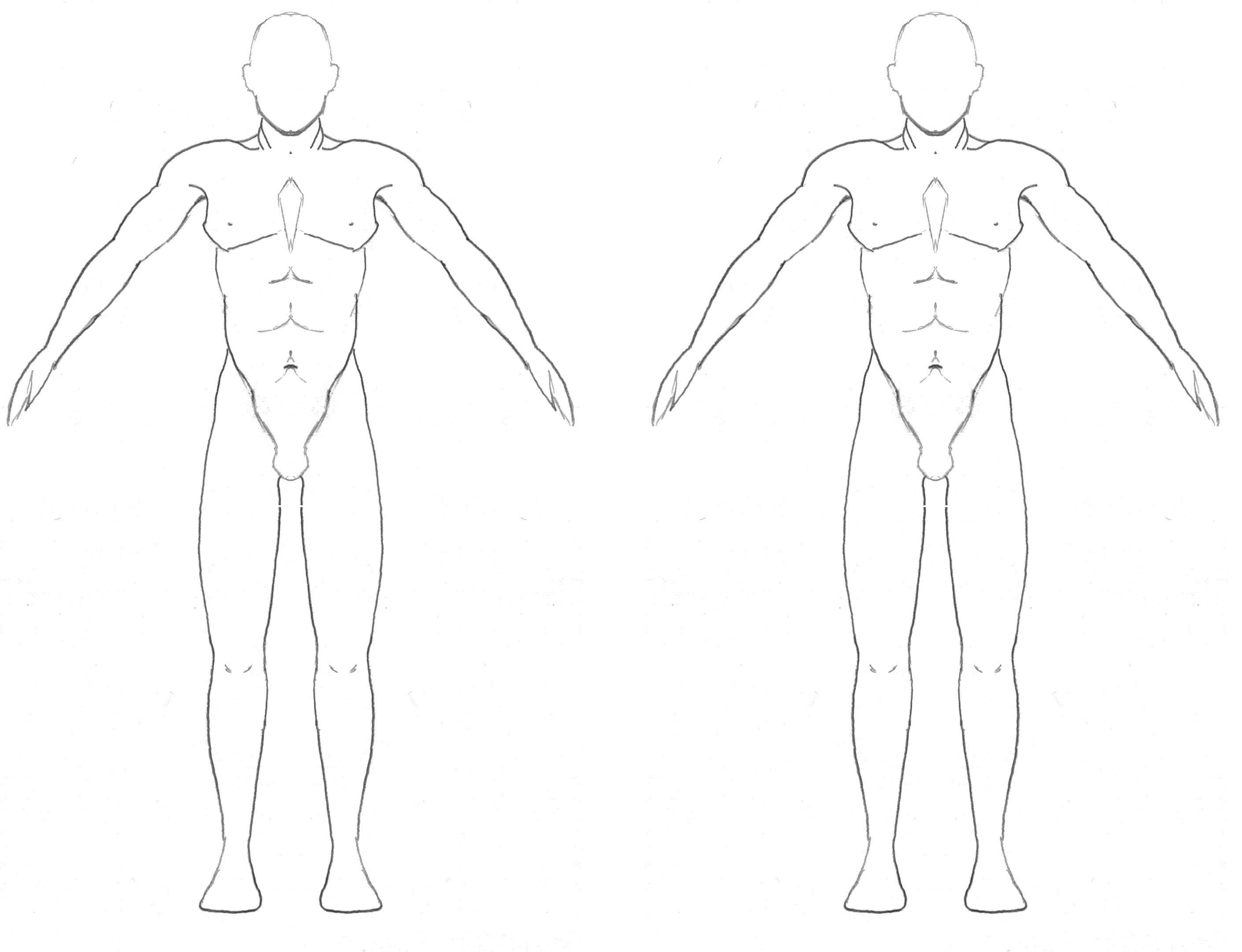 Free Blank Body Download Free Clip Art Free Clip Art On Clipart With Blank Body Map Template