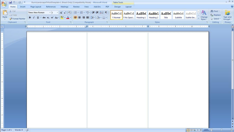 Free Blank Brochure Template Microsoft  Ideas Singular With Regard To Brochure Template On Microsoft Word