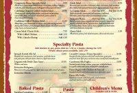 Free Blank Restaurant Menu Templates  Restaurant Menu Templates with regard to Blank Dinner Menu Template