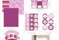 Free Bridal Shower Printables From Wanessa Carolina Creations intended for Free Bridal Shower Banner Template