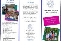 Free Brochure Templates Word  Pdf ᐅ Template Lab pertaining to Play School Brochure Templates