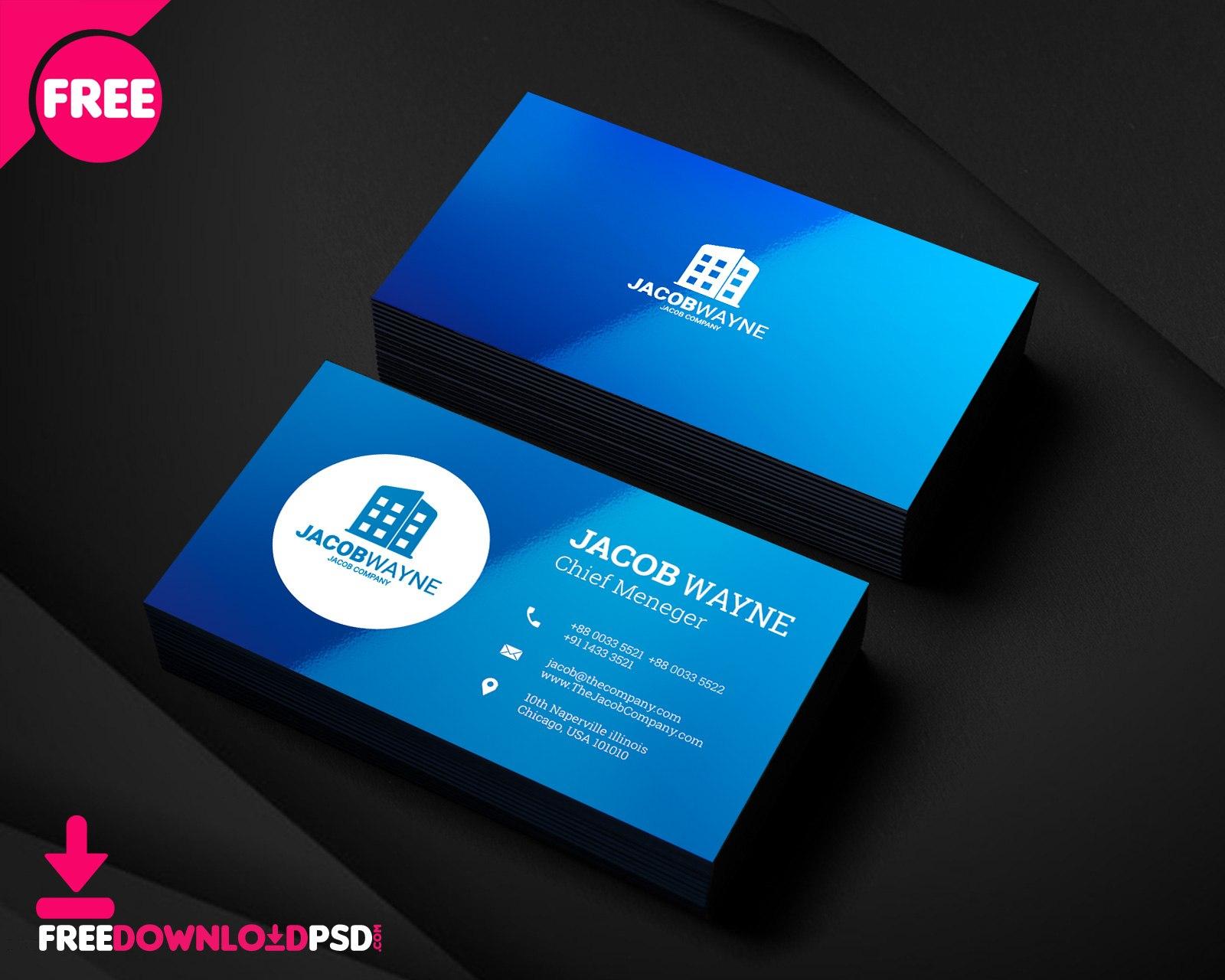 Free Business Card Psd Templates Regarding Psd Visiting Card Templates