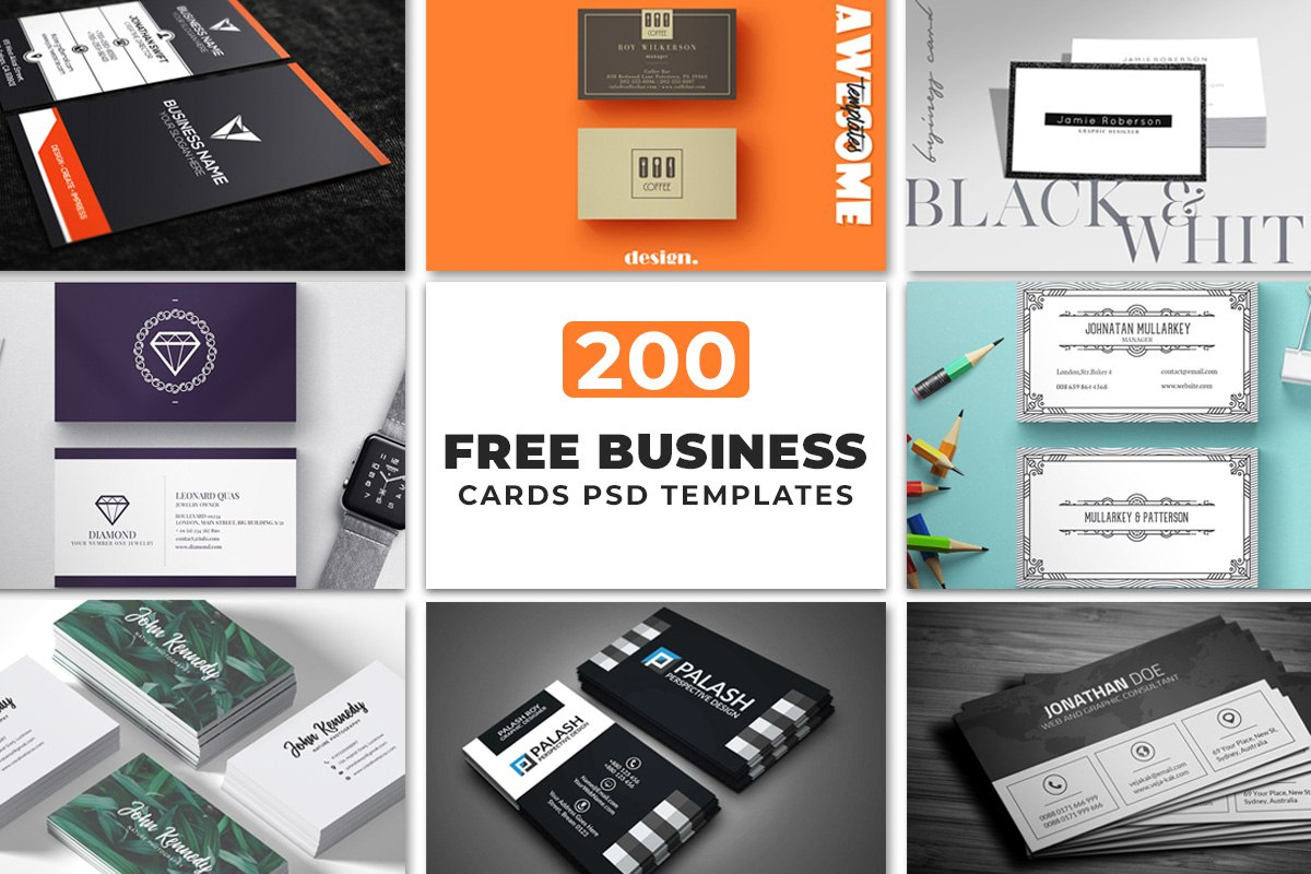 Free Business Cards Psd Templates  Creativetacos In Calling Card Psd Template