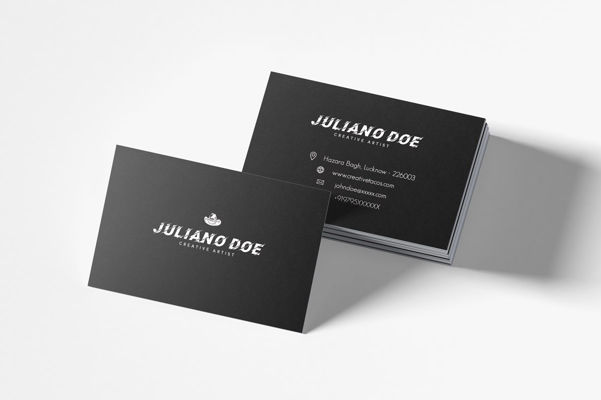 Free Business Cards Psd Templates  Creativetacos Inside Name Card Design Template Psd