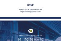 Free Business Meeting Invitation  Anyvision  Business Invitation pertaining to Business Meeting Request Template