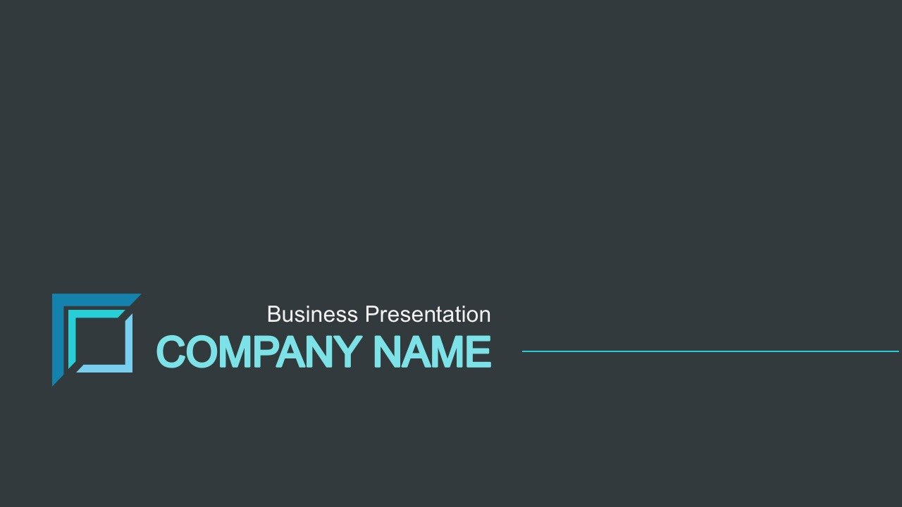 Free Business Portfolio Powerpoint Template In Ppt Templates For Business Presentation Free Download