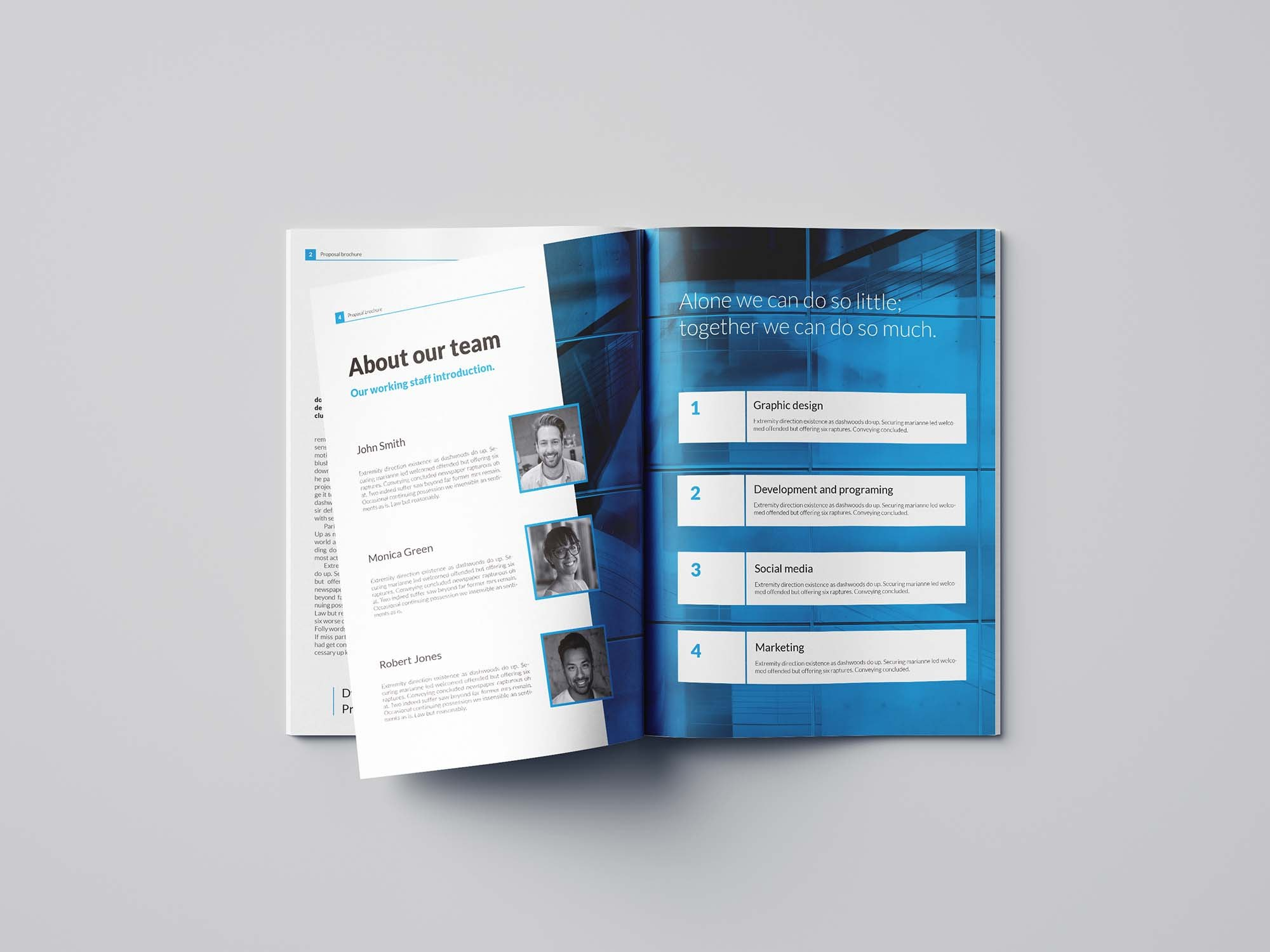 Free Business Proposal Template Indesign Inside Business Proposal Template Indesign
