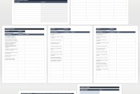 Free Business Transition Plan Templates  Smartsheet Intended For Business Process Transition Plan Template