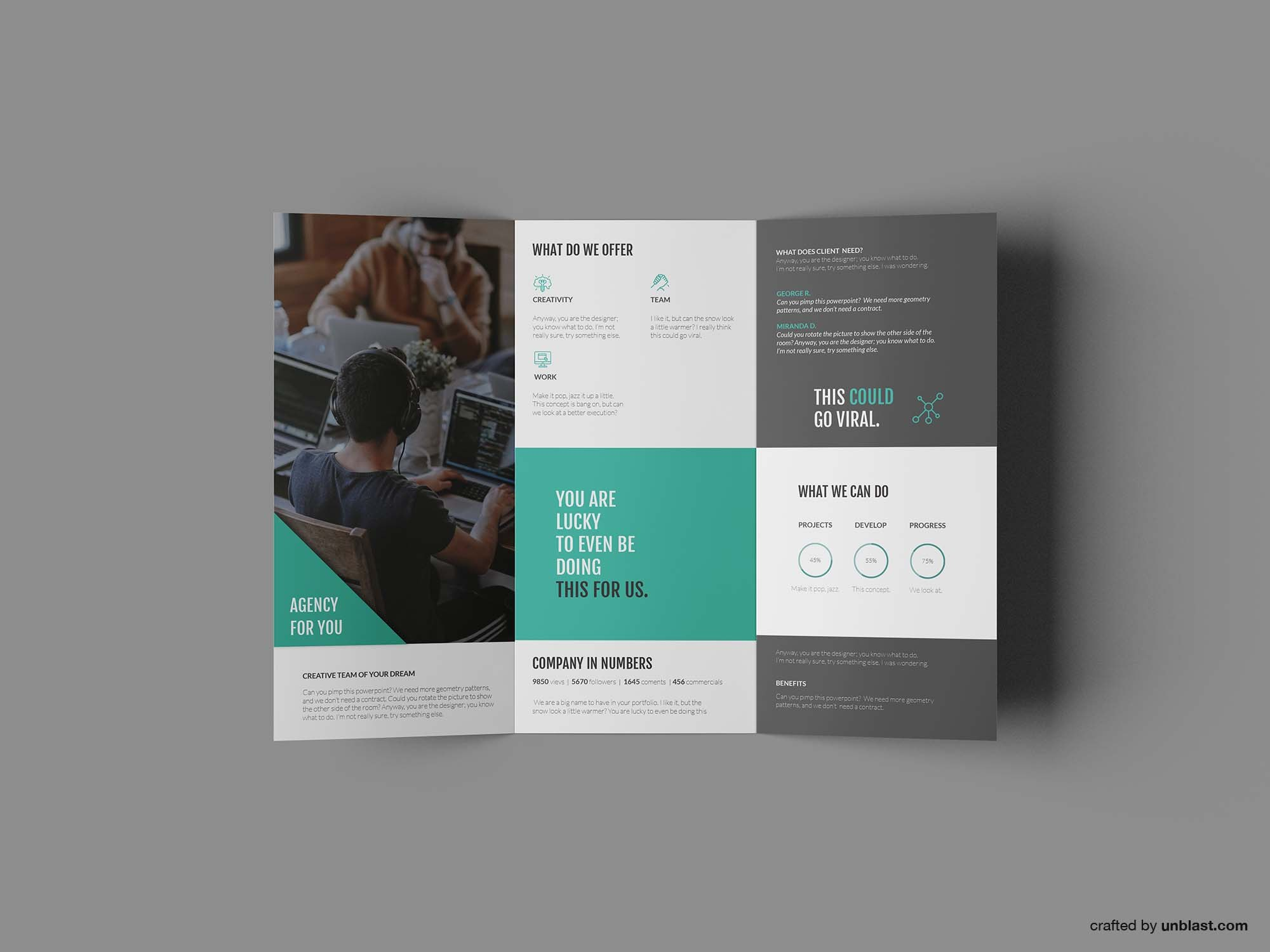 Free Business Trifold Brochure Template Ai Throughout Tri Fold Brochure Template Illustrator Free