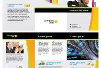 Free Business Vector Brochure Template In Illustrator  Free Design pertaining to Illustrator Brochure Templates Free Download