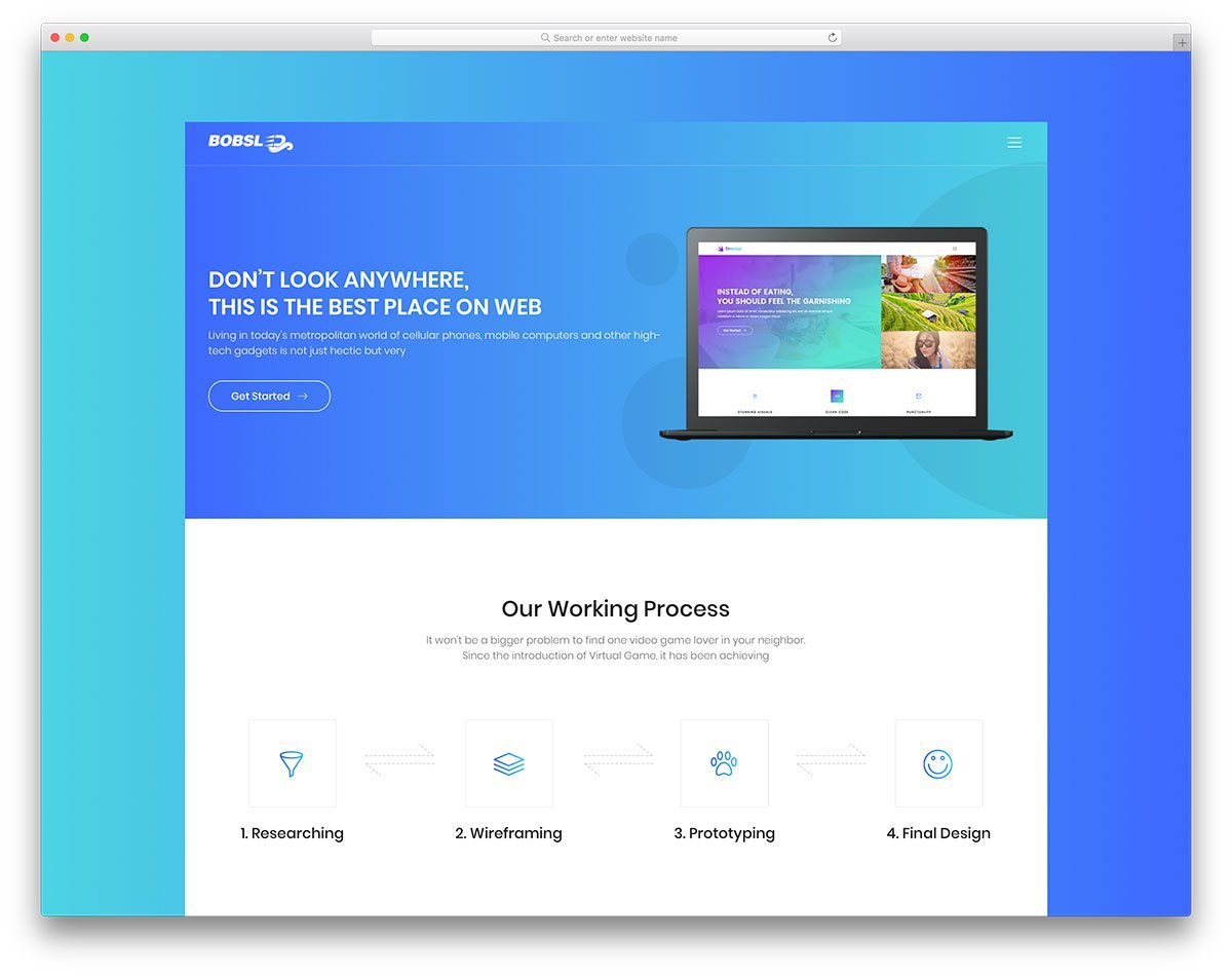 Free Business Website Templates For Startups Html  WordPress For Website Templates For Small Business