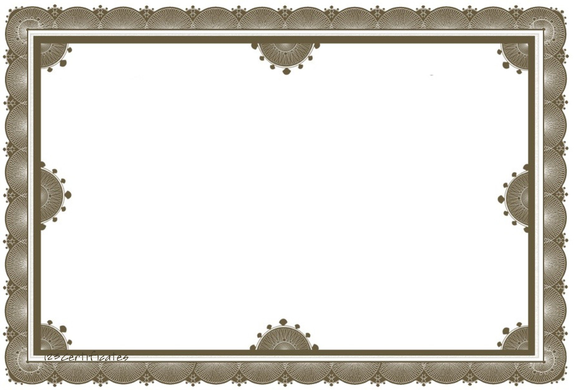 Free Certificate Borders To Download Pertaining To Award Certificate Border Template