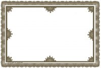 Free Certificate Borders To Download with Certificate Border Design Templates