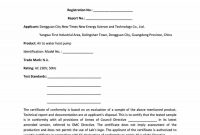 Free Certificate Of Conformance Templates  Forms ᐅ Template Lab in Certificate Of Manufacture Template