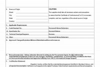 Free Certificate Of Conformance Templates  Forms ᐅ Template Lab with regard to Certificate Of Conformance Template