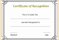 Free Certificate Templates Word Of Award Template Border Inside with regard to Blank Award Certificate Templates Word