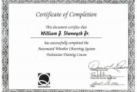 Free Certificate Templates Word Of Completion Template Awesome for Free Completion Certificate Templates For Word
