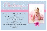 Free Christening Invitation Templates Photoshop  Baptism For Baptism Invitation Card Template