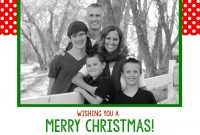 Free Christmas Card Templates  Crazy Little Projects pertaining to Free Christmas Card Templates For Photographers