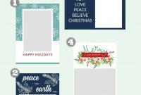 Free Christmas Card Templates  Do It Yourself Today  Christmas throughout Print Your Own Christmas Cards Templates